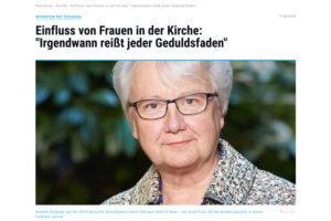 """Annette Schavan Interview   """"Irgendwann reißt der Geduldsfaden"""""""