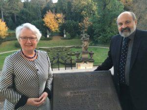 Annette Schavan und Tomáš Halík