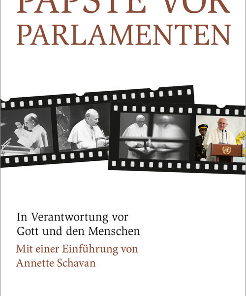 Annette Schavan Buch   Päpste vor Parlamenten